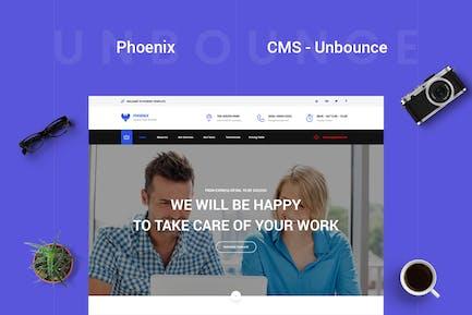 Phoenix - CMS Multi-Purpose Unbounce Template