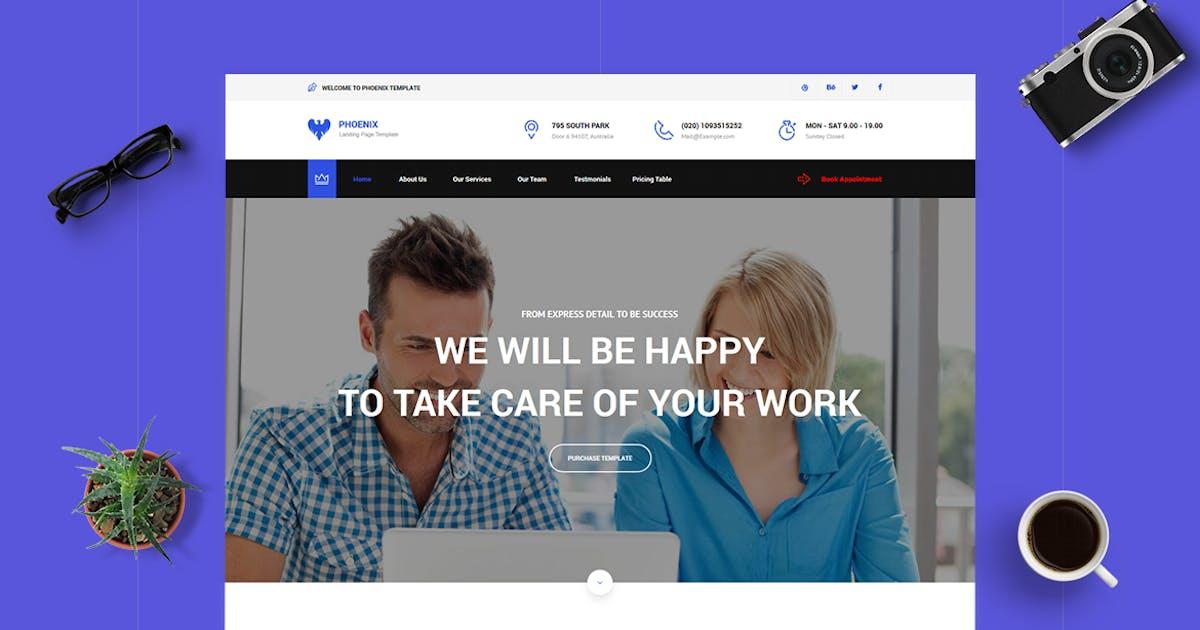 Download Phoenix - CMS Multi-Purpose Unbounce Template by ExplicitConcepts