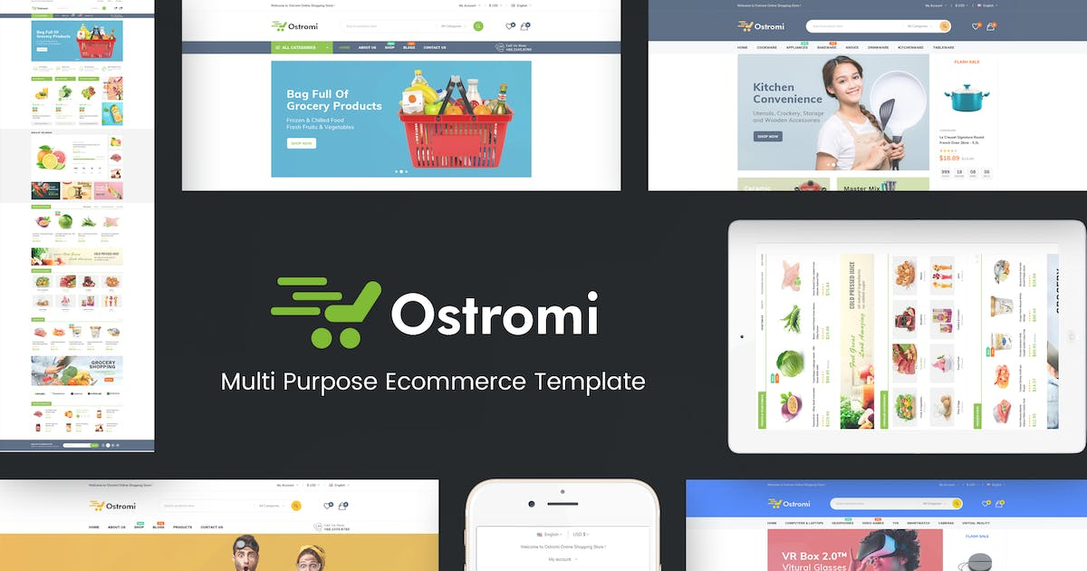 Download Ostromi - OpenCart Theme by posthemes