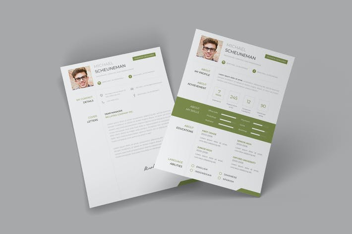 Thumbnail for The Style CV Resume