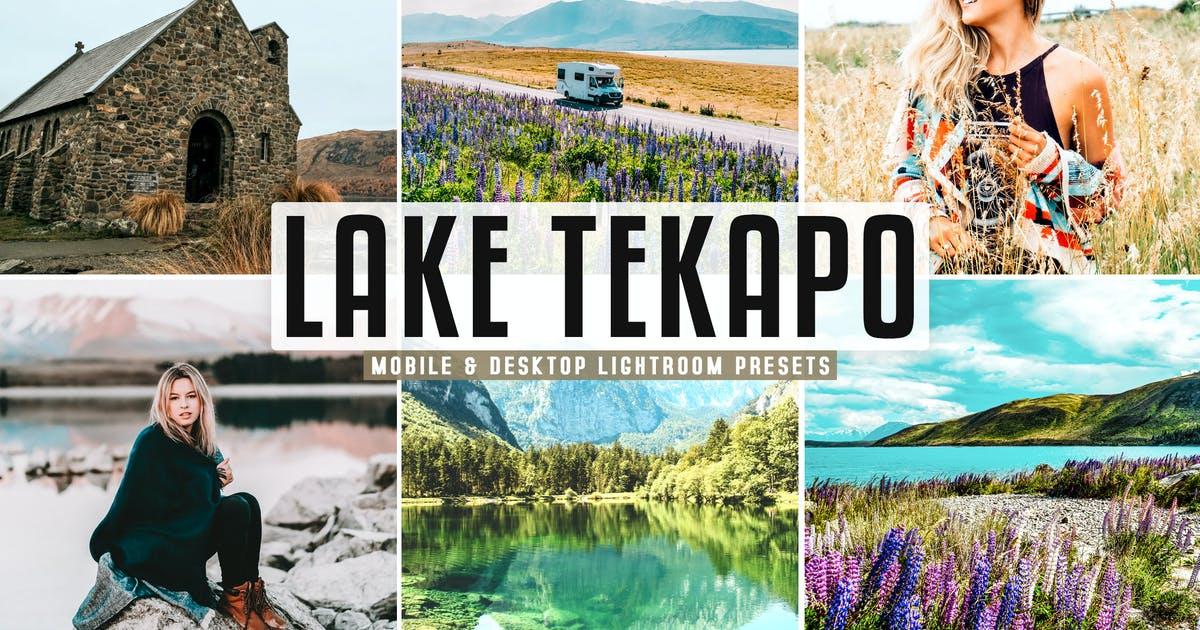 Download Lake Tekapo Mobile & Desktop Lightroom Presets by creativetacos