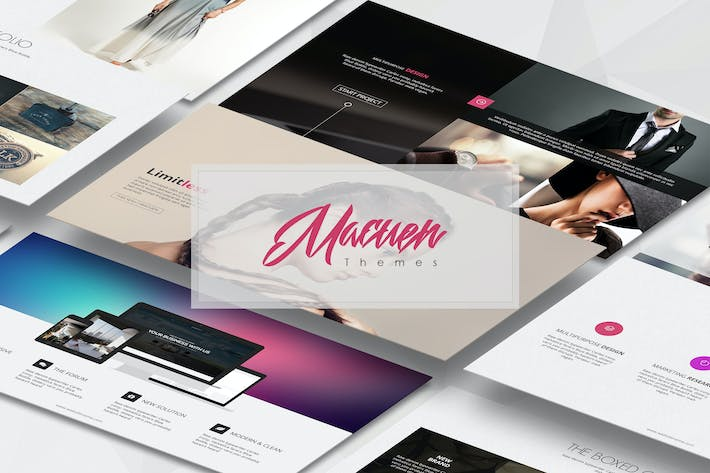 Thumbnail for Macuen Business Template