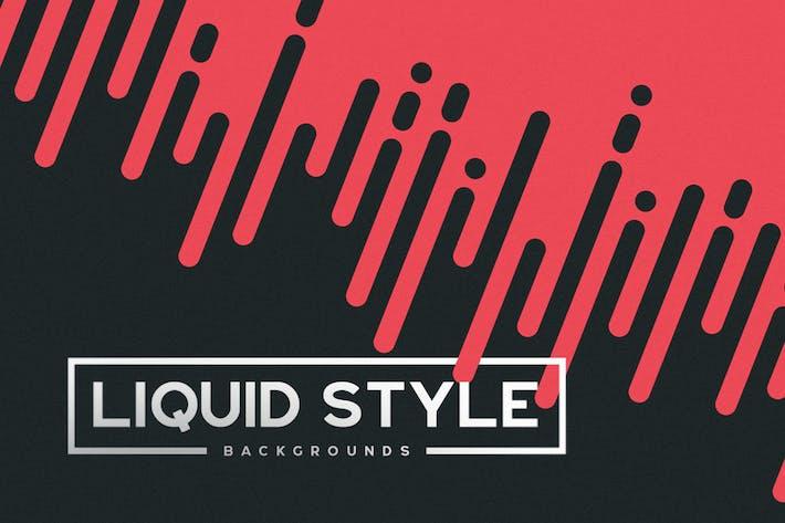 Thumbnail for Arrière-plans de style liquide/rapide