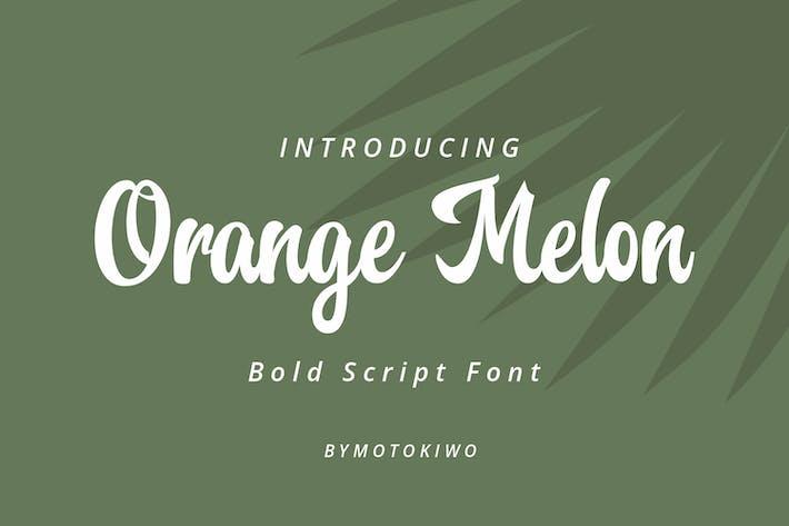 Thumbnail for Fuente de secuencia de comandos de melón naranja