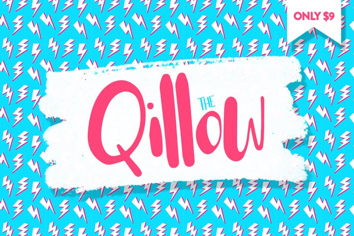 Cover Image For Qillow Font