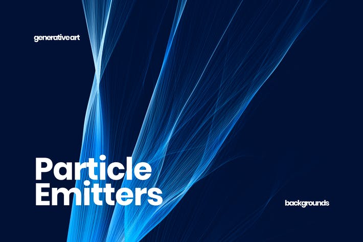 Particle Emitters Backgrounds