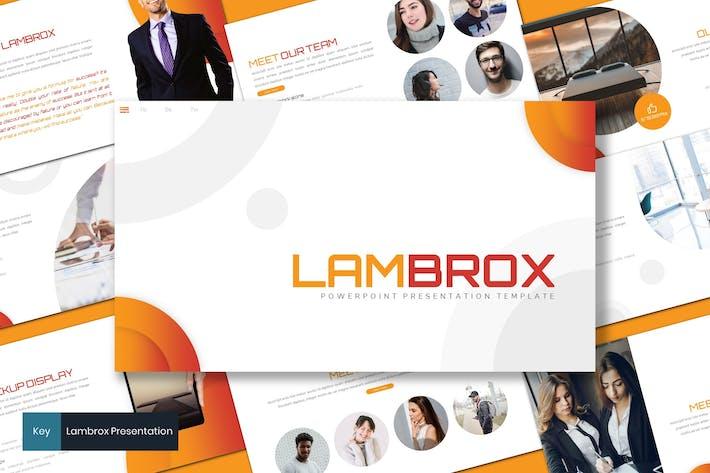 Thumbnail for Lambrox - Business Keynote Template
