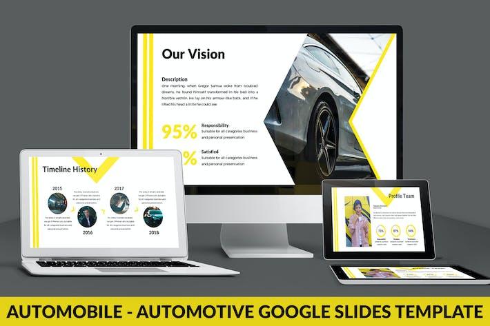 Thumbnail for Automobile - Automotive Google Slides Template