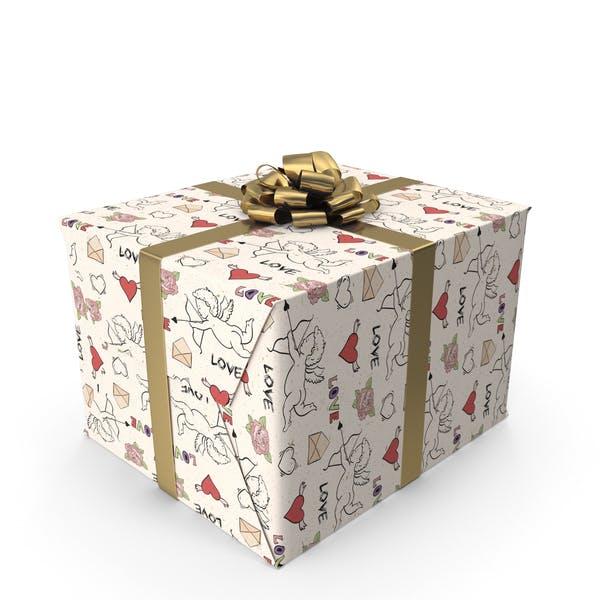 Подарочная коробка любви Амура