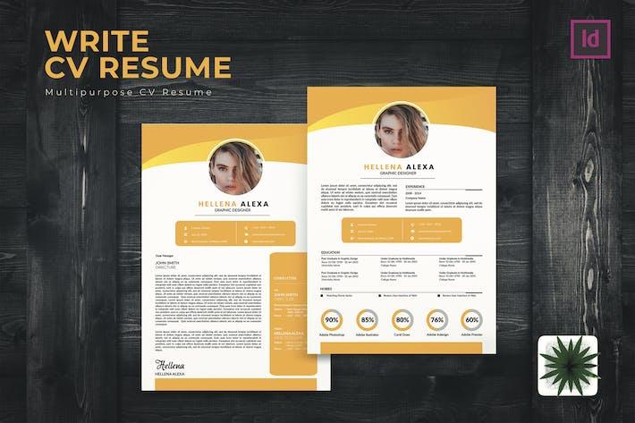 Thumbnail for Write CV Resume