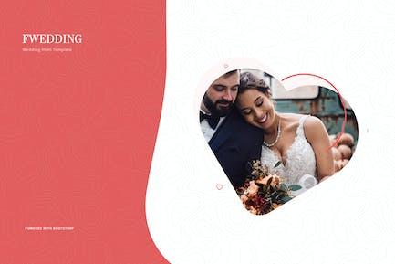 Foxewedding - Beautiful Wedding Template