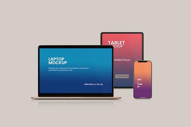 Multi Device Website Mockups Vol.2