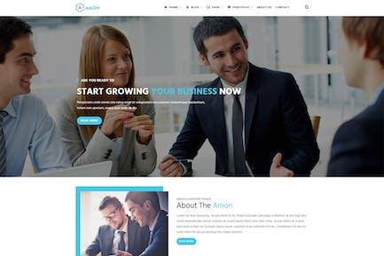 Amon - Responsive Business Drupal Theme