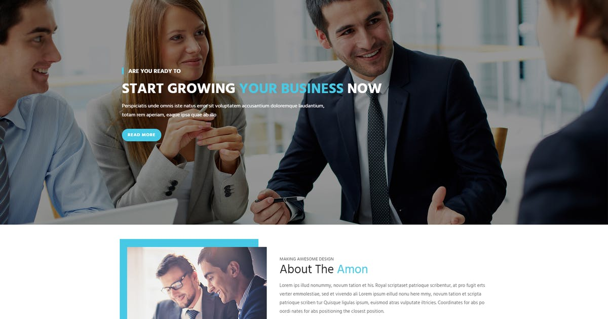 Download Amon - Responsive Business Drupal Theme by gavias
