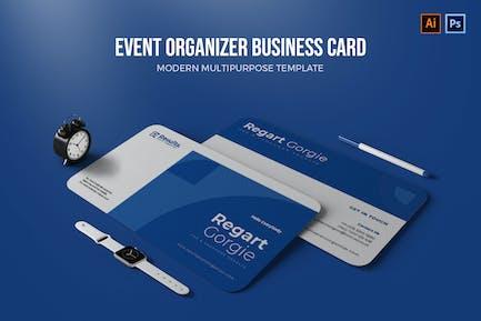 Event Organizer - Business Card