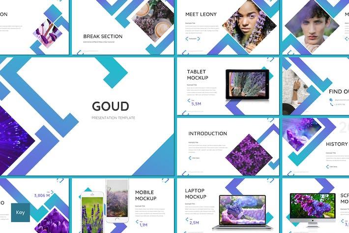 Thumbnail for Goud - Flower Keynote Template