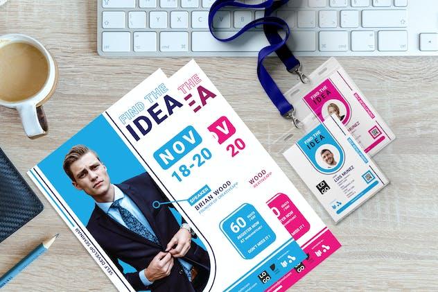 Find The Idea - Seminar Invitation