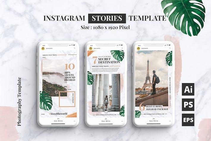 Thumbnail for Reise-Blog Instagram Stories Vorlage