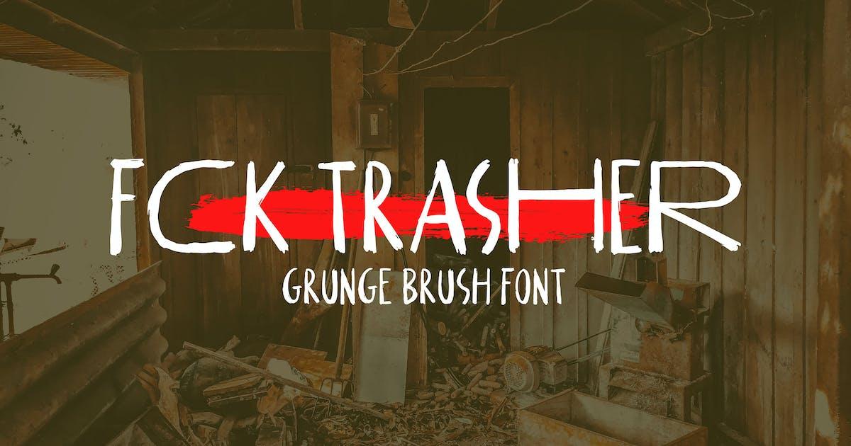 Download FCK Trasher by DikasStudio