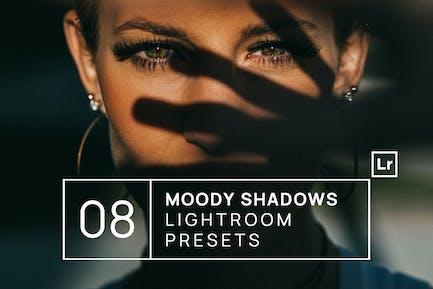 8 ajustes preestablecidos para Lightroom Premium de Moody Shadows