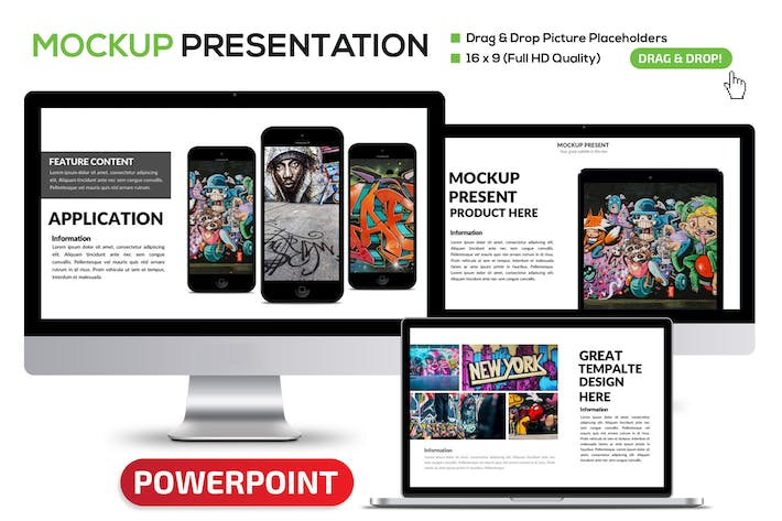 Thumbnail for Mockup Powerpoint
