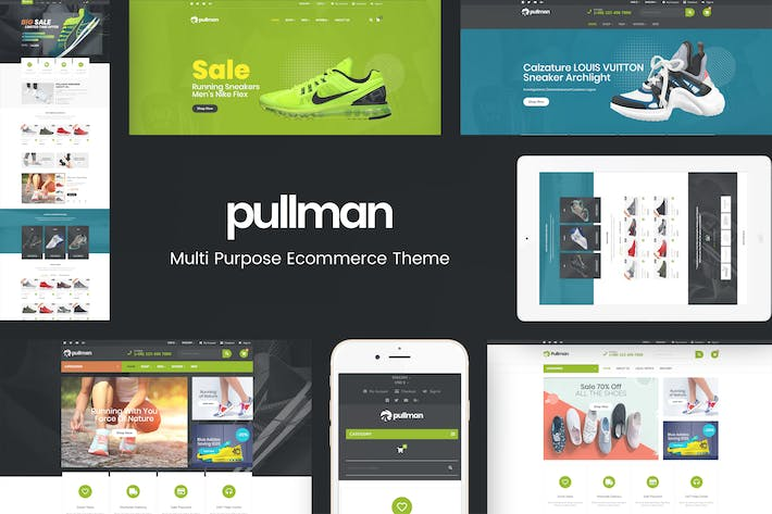 Thumbnail for Pullman - Multipurpose Prestashop Responsive Theme