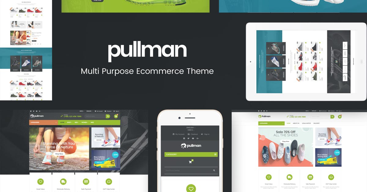 Download Pullman - Multipurpose Prestashop Responsive Theme by posthemes