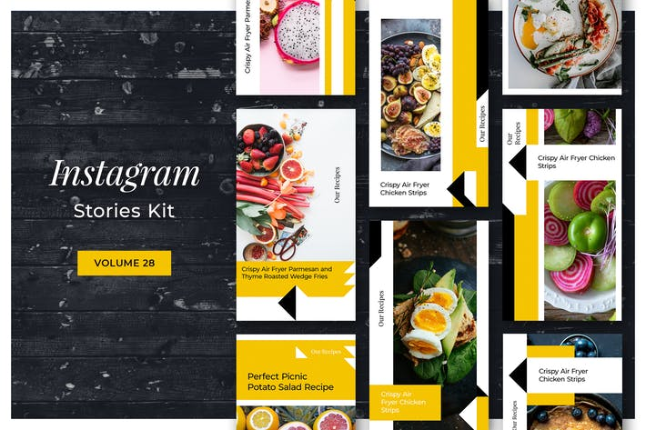 Thumbnail for Instagram Stories Kit (Vol.28)