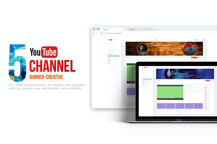 Youtube Channel Banners - Creative