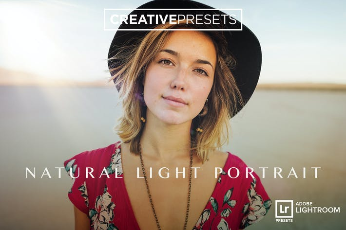 Thumbnail for Natural Light Portrait - Lightroom Presets