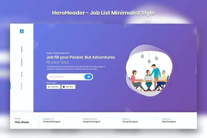Thumbnail for HeroHeader for JobList Minimal Website-13