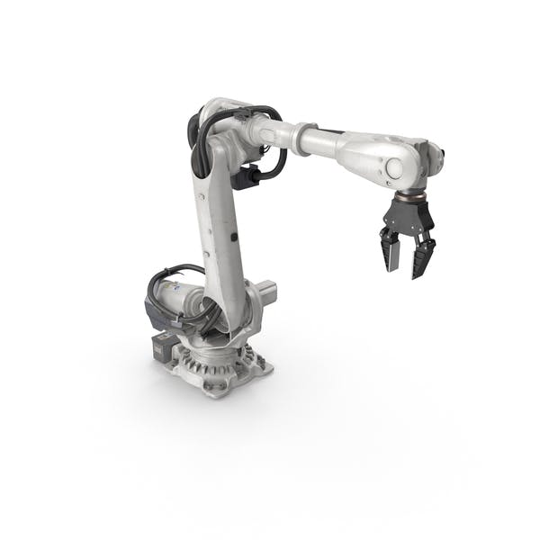 Heavy Robotic Arm with Gripper