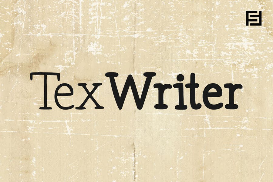 Tex Writer - Casual Handwritten Serif Typeface