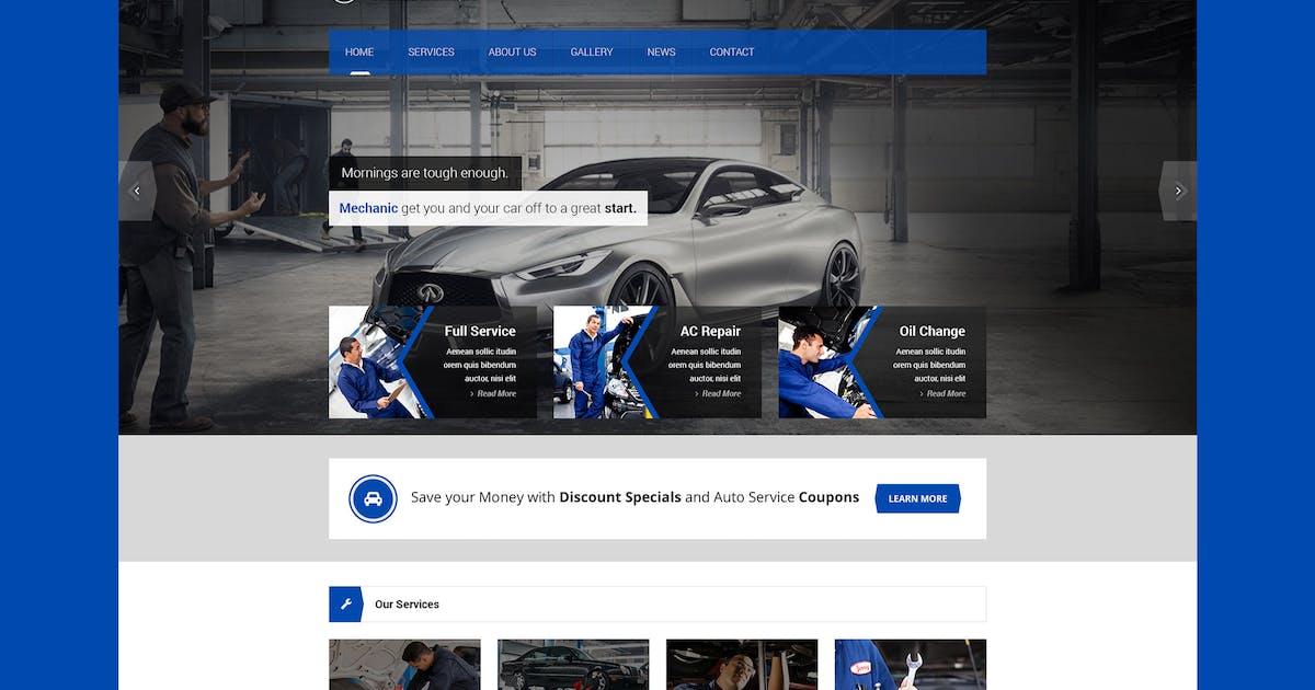 Download Mechanic - Car Service & Repair Workshop Template by PremiumLayers