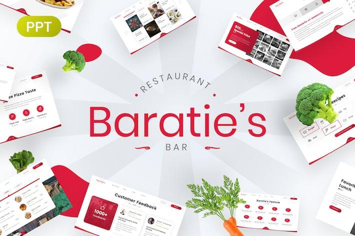 Thumbnail for Baratie's Restaurant & Bar PowerPoint Template