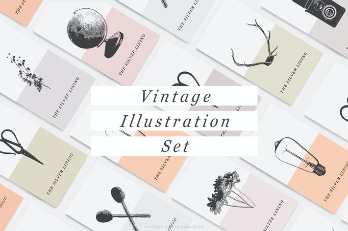Thumbnail for Vintage Illustrations V.1