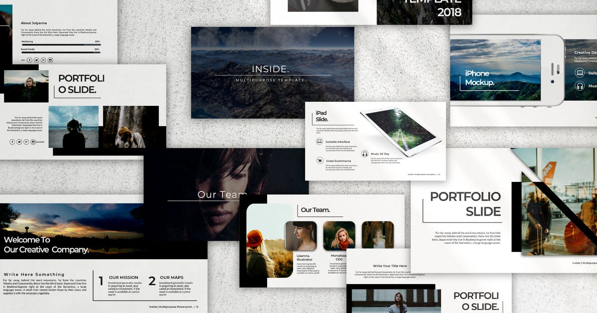 Download Inside Powerpoint by templatehere