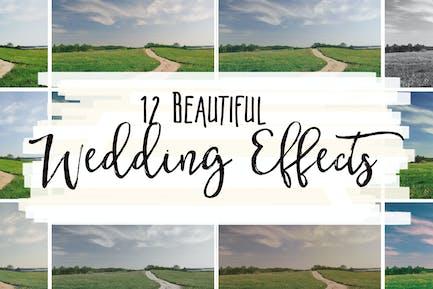 12 красивых свадебных эффектов