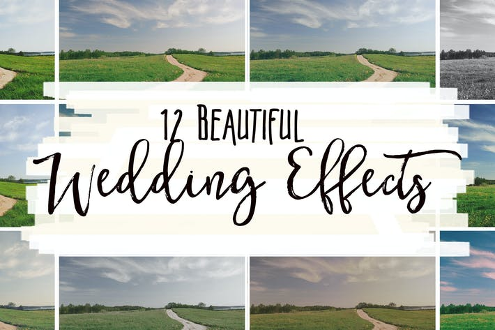 Thumbnail for 12 Beautiful Wedding Effects