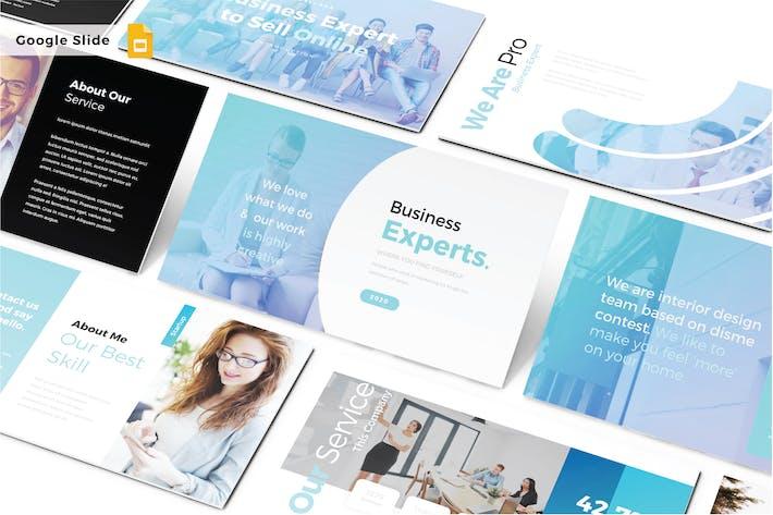 Thumbnail for BUSINESS EXPERTS - Google Slide V489