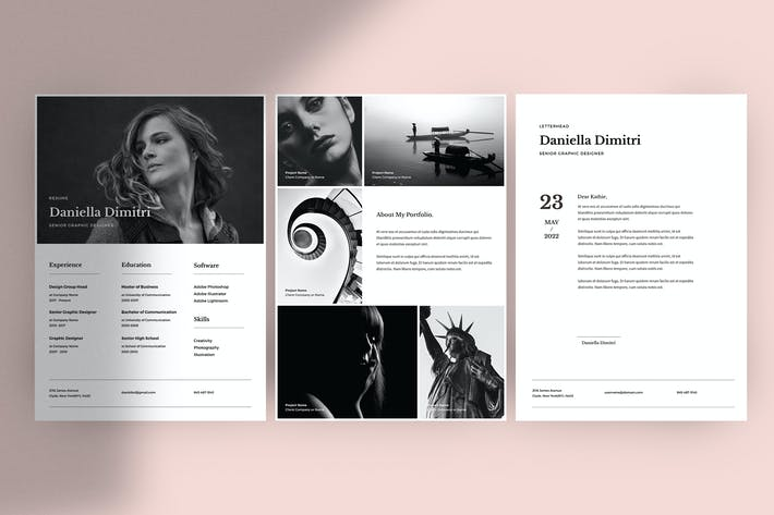 Thumbnail for Minimal Resume Template