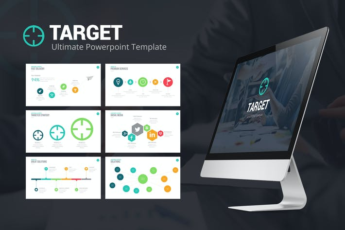 Thumbnail for Target Powerpoint Template