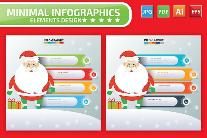 Thumbnail for Дизайн Инфографика Санта-Клауса