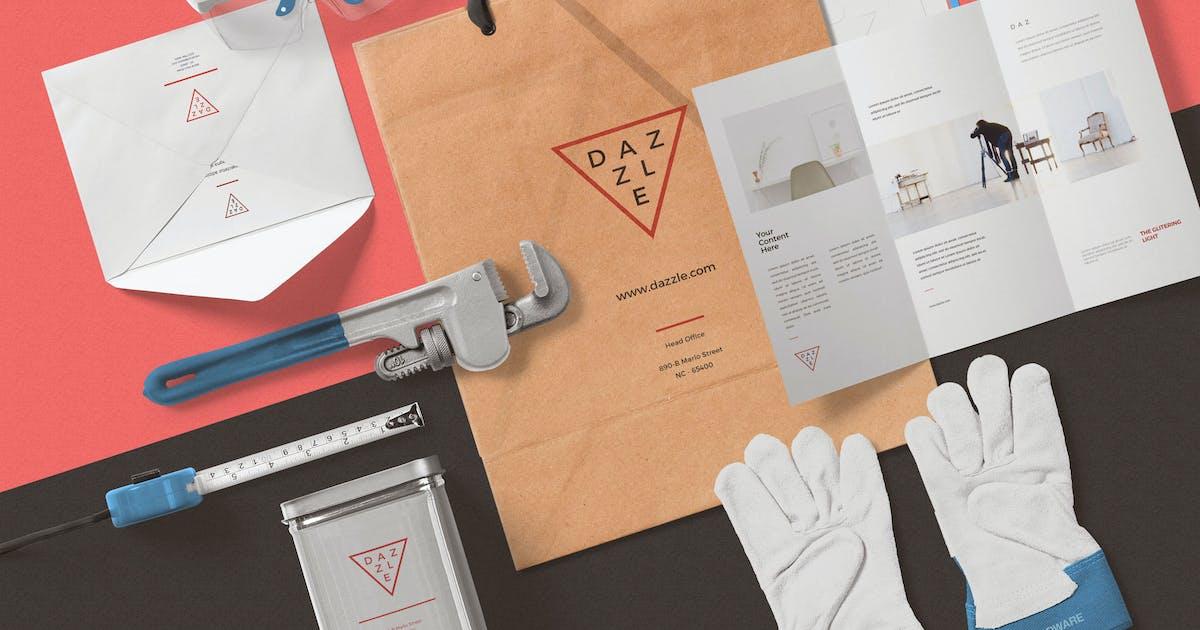 Download Paper Bag Mockup Scenes by zippypixels