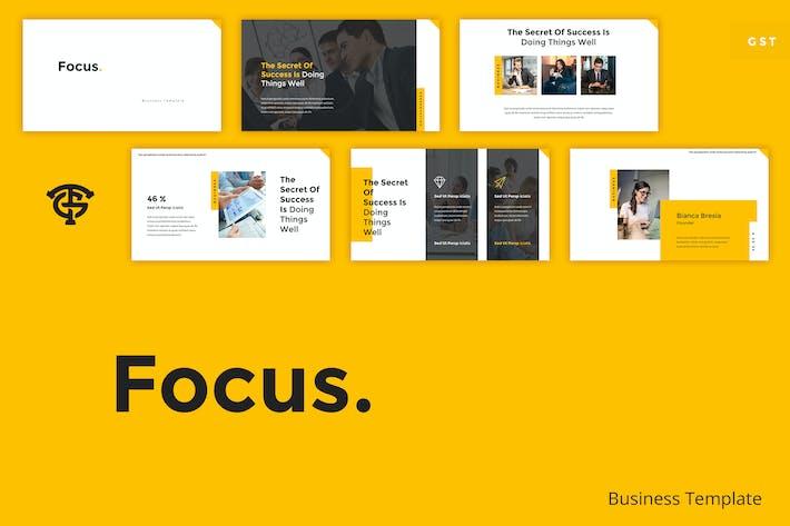 Thumbnail for Focus Business - Google Slides