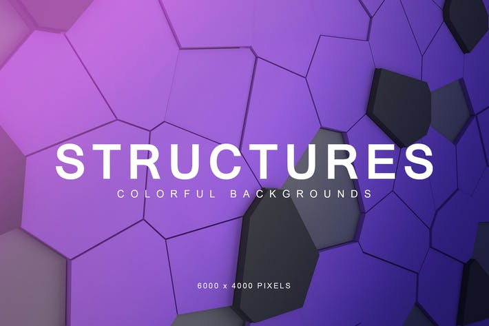 Thumbnail for Colorful Structures Backgrounds