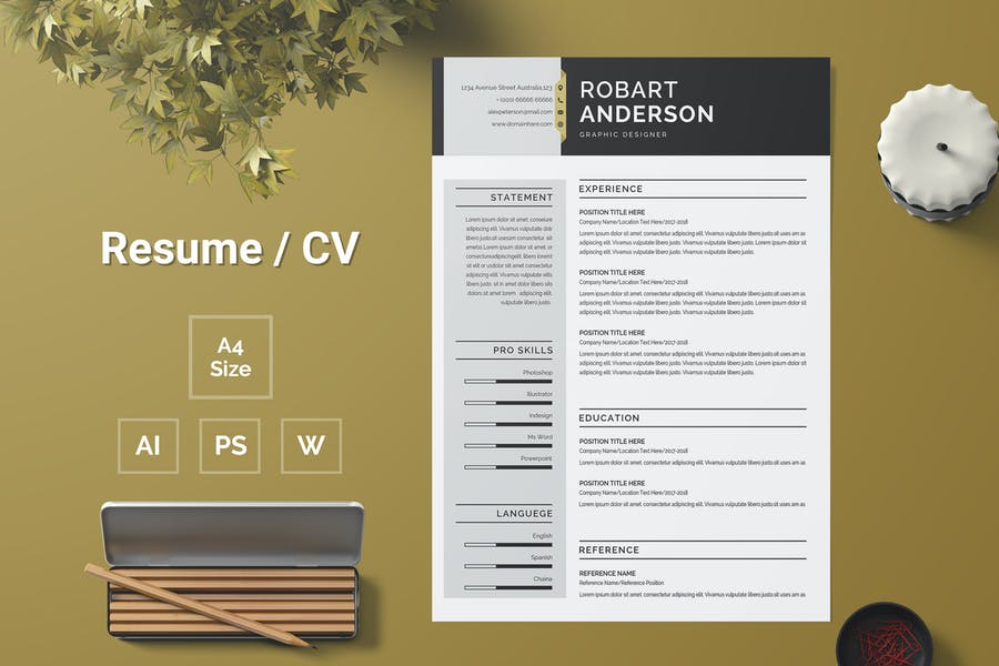 Resume Template 120