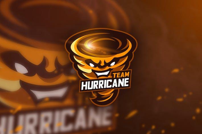 Thumbnail for Team Hurricane - Mascot & Esport Logo