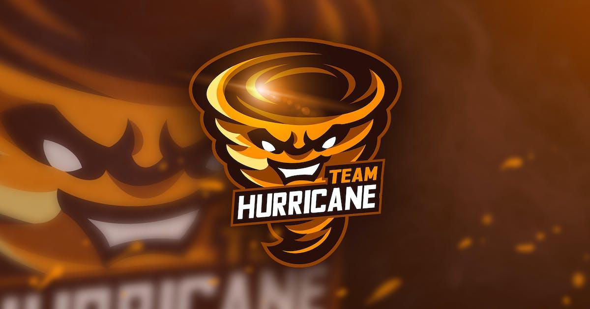 Download Team Hurricane - Mascot & Esport Logo by aqrstudio
