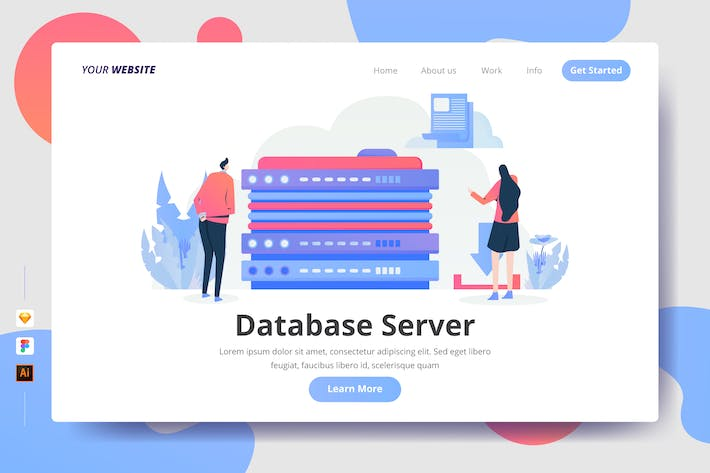 Thumbnail for Database Server - Landing Page